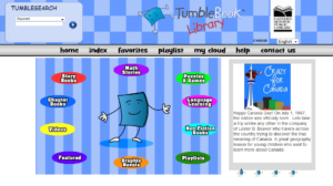 TumbleBooks screen shot