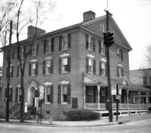stroud mansion - 1950s